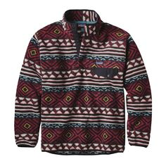 Patagonia Men's Synchilla Snap-T Fleece Pullover Saltillo/Cinder Red XL Patagonia Pullover Mens, Patagonia Synchilla, Patagonia Fleece, Mens Fleece, Outdoor Outfit, Ladies Dress Design, Look Cool, Sweater Weather, Winter Outfits