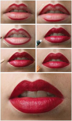 Best #Makeup Tricks to Get The Perfect #Red #Lip