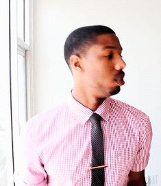 Also, here are some very important GIFs of him licking his lips. | Let's All Just Take A Few Moments To Appreciate Michael B. Jordan
