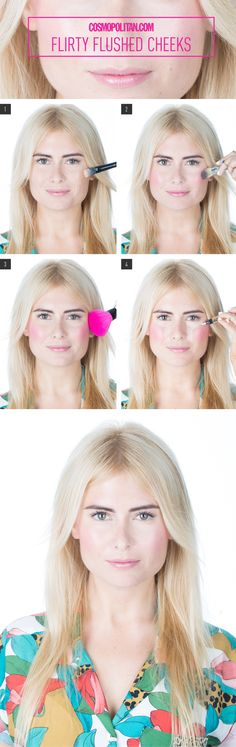 Makeup How-To: Flirty Flushed Cheeks