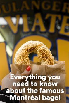 Some eat bagels. We eat Montréal bagels. Learn everything about what made them famous. Crepes, Canada, French Dishes, Of Montreal, Bread Baking, Love Food, Bagels, Waffles, Food And Drink