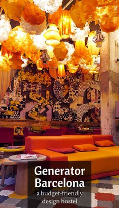 In the heart of Barcelona's hip Garcia neighborhood is Generator Hostel Barcelona, a design hostel and hotel breaking all the rules. Could it be the best?