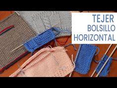 Cómo tejer bolsillo horizontal 💡Ideas y Consejos de Lucila - YouTube Mtv, Crochet Bikini, Crochet Patterns, Knitting, Eyeliner, Tips, Blog, Youtube, Amelia