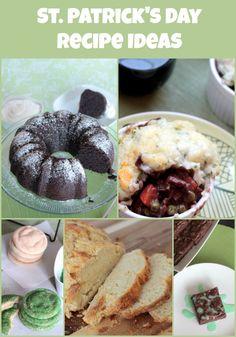 St. Patrick's day recipe ideas