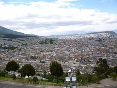 """""""El Panecillo"""" is a natural elevation of meters above sea level, nestled in the heart of the city of Quito (Ecuador). Its location has become the most important natural view of the city, from. Quito Ecuador, Sea Level, Natural, City Photo, Nature, Au Natural"""