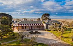 Beautiful rural house exterior. Lifestyle living at its best.  Bellarine, Geelong.  Peter Lindeman www.peterlindeman.com.au