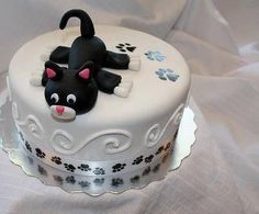 Photos Of Cats Product Birthday Cake For Cat, Birthday Cakes For Women, Serval Cats, Cat Scratching Post, Cat Hat, Warrior Cats, Baking, Desserts, Food