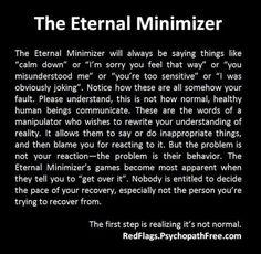 The Eternal minimizer