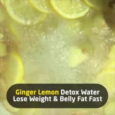 Also an excellent home remedy for congestion and cough if you have a cold. Healthy Juices, Healthy Smoothies, Healthy Drinks, Health Diet, Health And Nutrition, Health Fitness, Ginger Water, Lemon Detox, Infused Water Recipes