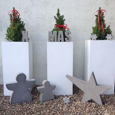 Beton Weihnachten DIY