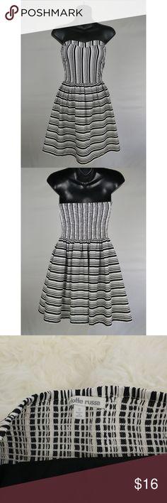 I just added this listing on Poshmark: Strapless Striped Dress Small. #shopmycloset #poshmark #fashion #shopping #style #forsale #Charlotte Russe #Dresses & Skirts