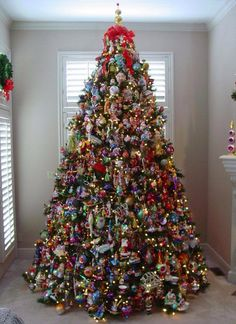 Volle kerstboom