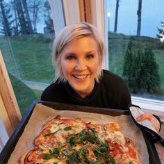 Hävikkipizza | Sunnuntai.fi Hawaiian Pizza, Quiche, Food And Drink, Breakfast, Custard Tart