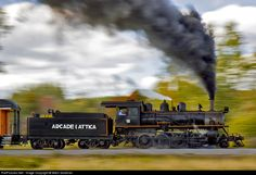 RailPictures.Net Photo: ARA 18 Arcade & Attica Railroad Steam 2-8-0 at Arcade, New York by Mitch Goldman