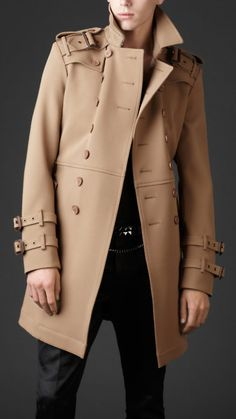 Contemporary Men's Trench Coat