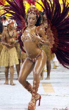 samba do carnival  | Carnaval Samba Dancer
