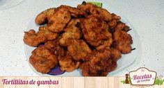Tortillitas de gambas -  La receta que os traemos hoy os vendrá bien como entrante en las comidas y para cenas ligeras. Se trata de unas tortillitas de gambas. A los niños les encanta, y a los mayores, también, ¡doy fe!    Tortillitas de gambas  Recipe Type: Entrantes Cuisine: Española Author: Carmen Guillén Prep time: ... - http://www.lasrecetascocina.com/tortillitas-de-gambas/