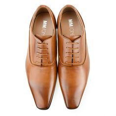 MM/ONE Oxford Mens Plain Toe Lace Up Dress Shoes Loafer Big size KingSize Black Brown Dark Brown >>> Click on the image for additional details.