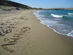 Limnos beach Greek Islands, Greece, America, Beach, Water, Places, Outdoor, Image, Greek Isles
