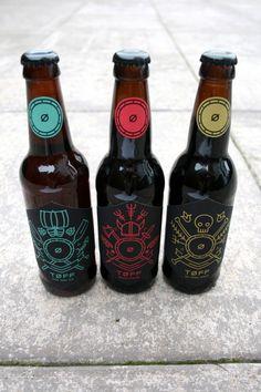 Viking-Inspired Beer Branding : TOFF