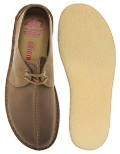Enlarge Clarks Originals Desert Trek Leather Shoes