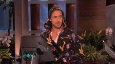 Ryan Gosling's Big Gift, via YouTube.  He. Has. So. Much. Swag.