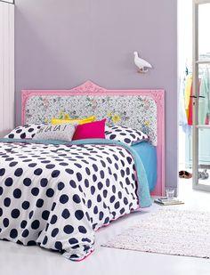 cabecera auto-maker Bedhead romántica Roadmap ¿Puede que a su habitación le vendría bien un poco más? Especifique el color y el romance con esta alegre cabecera. Simple hecho en casa menos de doce pasos.