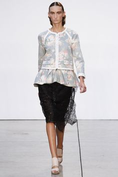 @Thakoon #catwalk #MBFWNY #floral_print #New_York #trends #SS_2013 #in