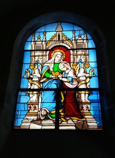 Vitraux de l'église St Genes Thiers