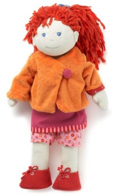 "$35.54-$49.95 Baby Doll Lotta 15"" - Lotta, the original member of the HABA soft doll family is a beautiful red head with bright matching clothes!  She will brighten any doll family!  Her enchanting smile, bright clothing and removable ponytail holder makes for years of fun!Product Measures: 18.2 x 6.75 x 1.5Recommended Ages: 18 months & up http://www.amazon.com/dp/B000H3H1M0/?tag=pin2baby-20"