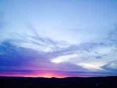 Linsengerichter Sonnenuntergang
