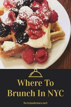 New York City has the best food in the United States, especially brunch! This food guide shows you all the best places to brunch in New York City. New York Travel Guide, New York City Travel, Travel Tips, Travel Guides, Travel Destinations, Travel Articles, Travel Stuff, Travel Hacks, Brunch Nyc