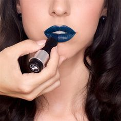 How To Pull Off Blue Lipstick