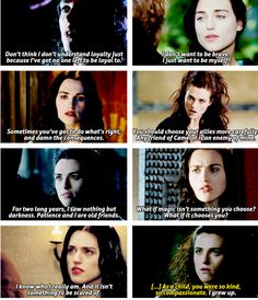 The first one! That's the thing that stuck out to me the most of Morgana's character. I'm so upset now!