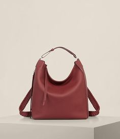 Kita Small Backpack(BERRY RED)