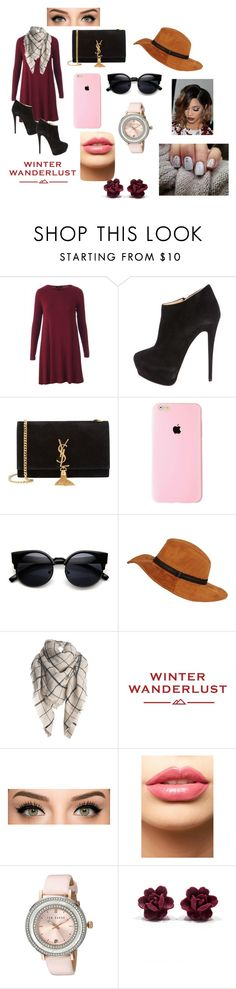 """""""interview with cameron"""" by thats0jai on Polyvore featuring Giuseppe Zanotti, Yves Saint Laurent, Black Rivet, American Eagle Outfitters, LASplash, Ted Baker, women's clothing, women's fashion, women and female"""