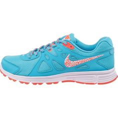 Nike Women's Revolution 2 Running Shoes - we love the fun pattern on the swoosh!