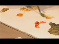 Oil Painting Tips : How to Paint the Color Gold Using Oil Paint