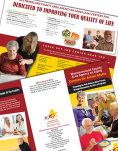 Brochure for the Westmoreland County Agency on Aging