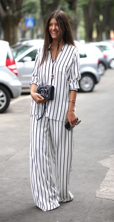 How to wear pyjamas as daywear without looking daft