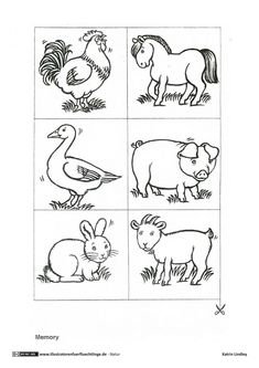 ausmalbilder bauernhof - ausmalbilder für kinder | bauernhoftiere | pinterest