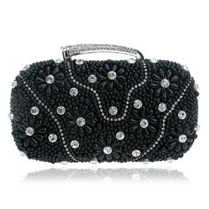 79656b6c588b2 Wedding Clutch, Pearl Beads, Evening Bags, Messenger Bag, Rhinestones, Bags,