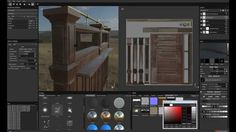 Abandoned Cinema Scene - Development Video 5 - Texture Workflow with Sub...