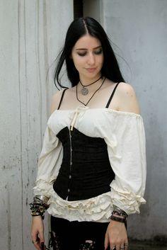 rokaia+mab+medieval+girl+gothic+steampunk+corset+lookbook+santtatendencia+celtic.4.jpg (1067×1600)