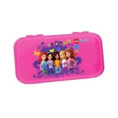 Lego Friends Minifigure Storage Case - Pink ** Details can be found by clicking on the image.