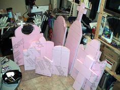How to make your own Tombstones