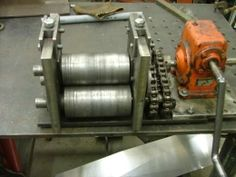 Small Gear Driven Wire Ring Roller
