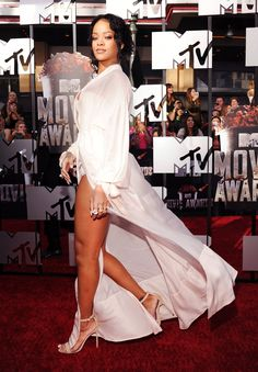 Head Turner | Rihanna is everywhere we look these days. Is she going to be touring with Kanye? Is her album about to drop? Is she dating Leo DiCaprio? The one thing we do know is Rih-Rih knows how to rock a red carpet. Here are 100 of Rihanna's boldest, loudest and outright most provocative looks.