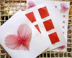 Cartões feitos a mão