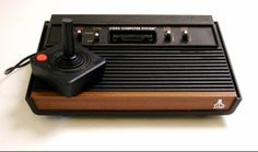 Yaaaasss!! The Atari 2600! You were not cool unless you had one!! Pac-Man looked like it was made out of lego's Lol We had sooooo cartridges (games)!!